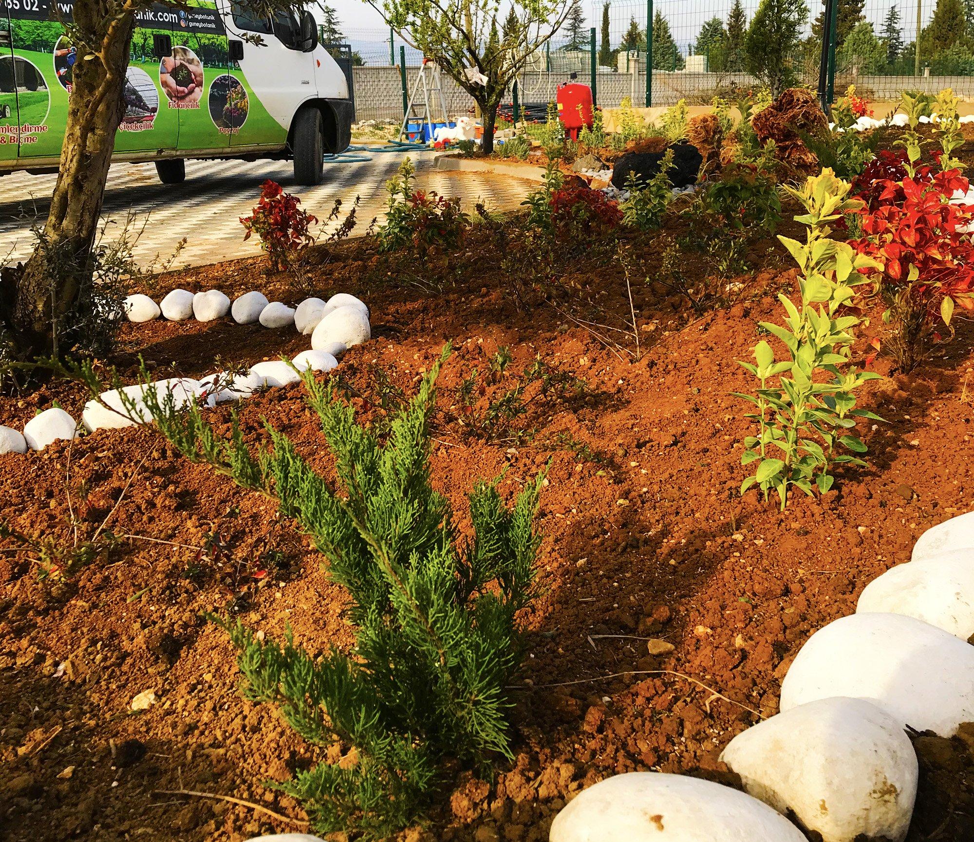 İnegöl Bahçe Peyzaj Uygulaması